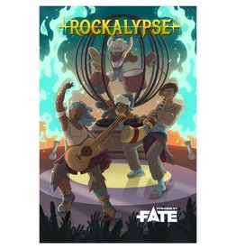 Four-In-Hand Games Rockalypse RPG