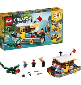 LEGO LEGO Riverside Houseboat 3in1