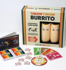 Exploding Kittens LLC Throw Throw Burrito