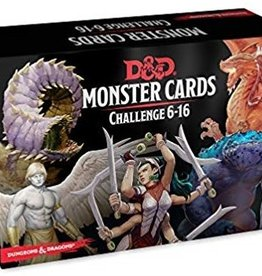 GaleForce 9 D&D 5e Monster Cards 6-16