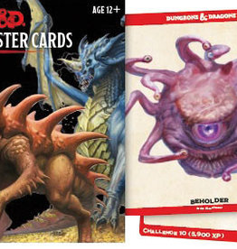 GaleForce 9 D&D 5e Monster Cards, Epic Monsters