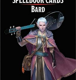 GaleForce 9 D&D5e Spellbook Cards: 2e Bard