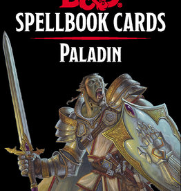 GaleForce 9 D&D5e Spellbook Cards: 2e Paladin