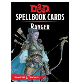GaleForce 9 D&D5e Spellbook Cards: 2e Ranger