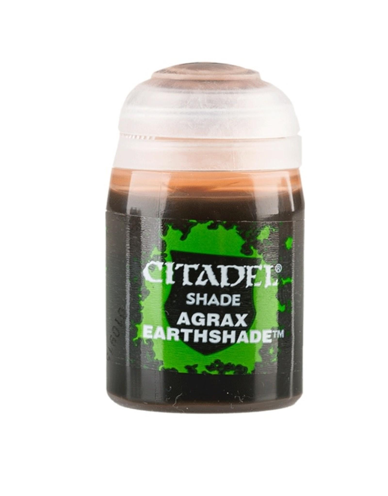 Games Workshop Agrax Earthshade paint pot