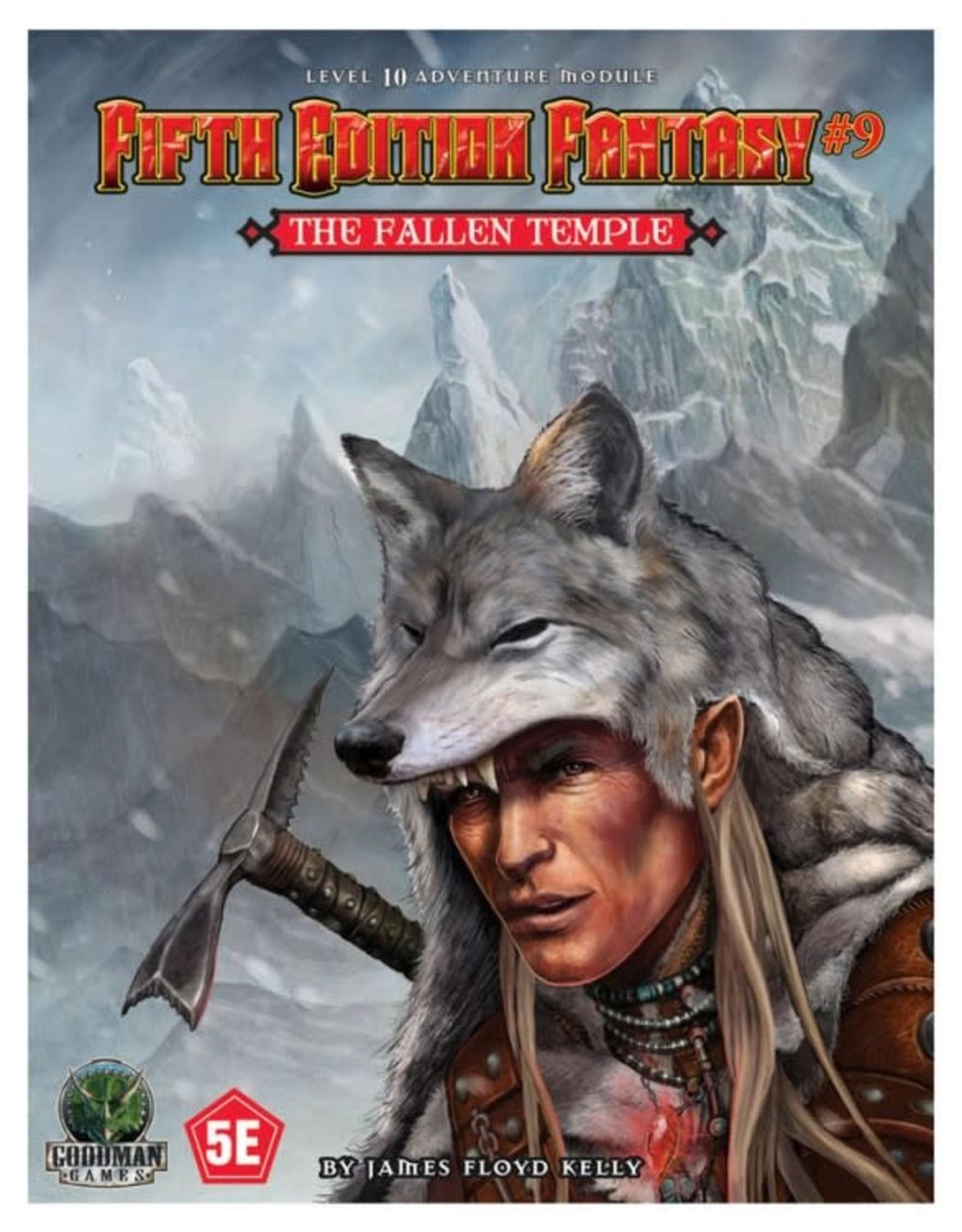 Goodman Games 5e Fantasy: #9 The Fallen Temple