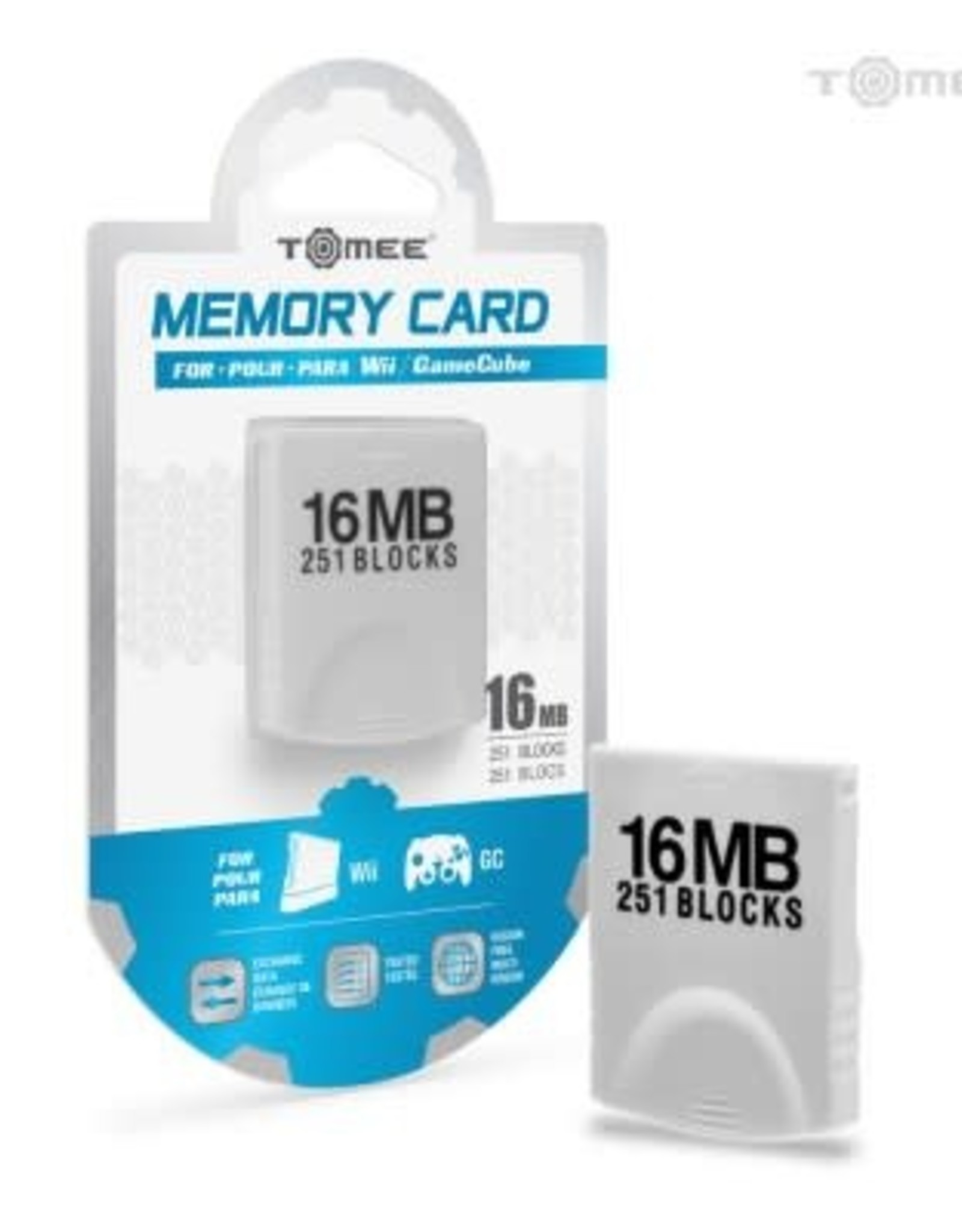 Hyperkin 16MB Memory Card For Wii® / GameCube®