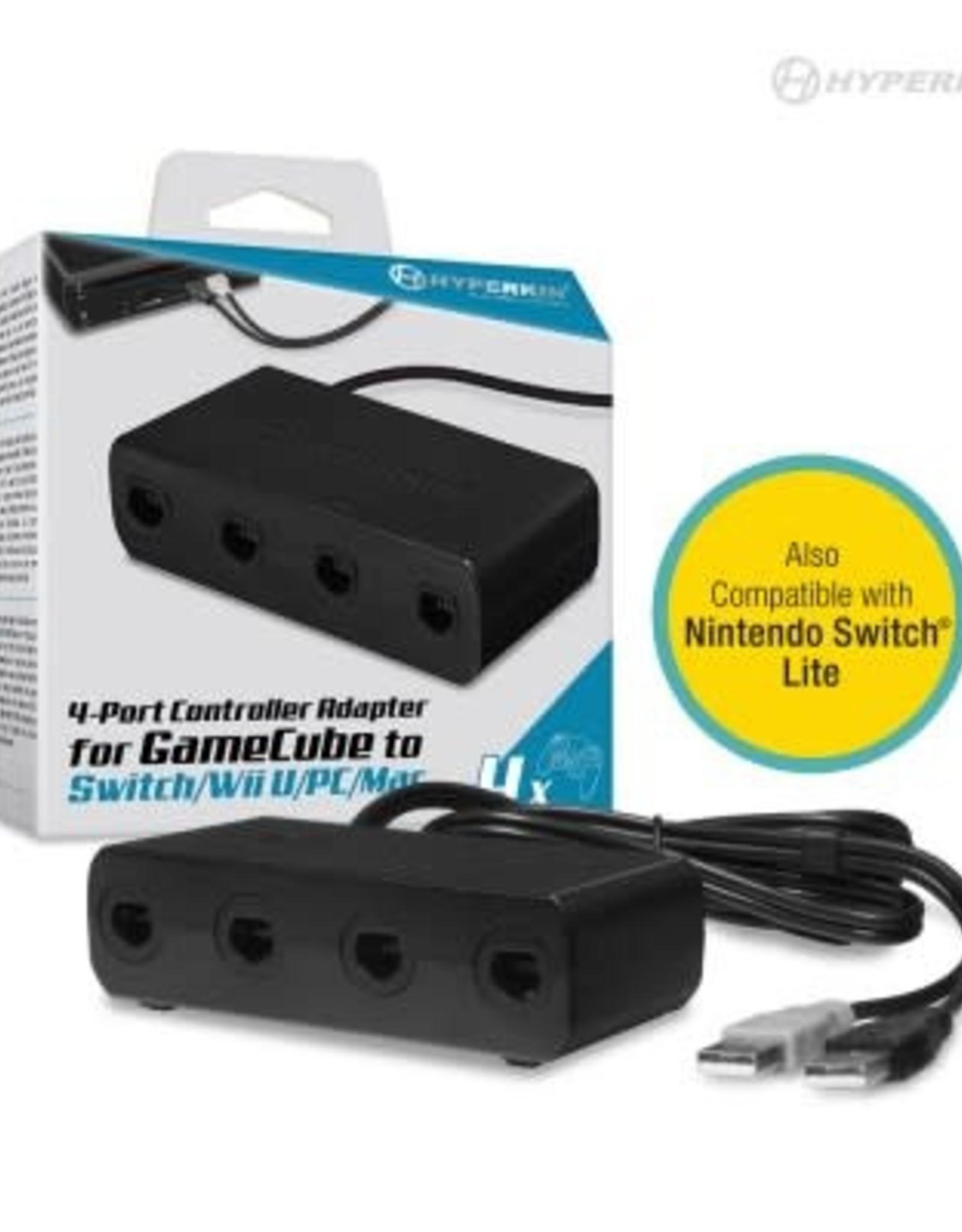 Hyperkin 4-port Controller Adapter for GameCube
