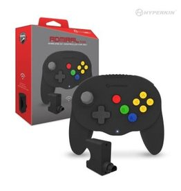 Hyperkin Admiral Wireless N64/PC/MAC/Android Controller Black