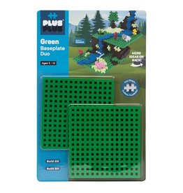 Plus-Plus Plus Plus Baseplate Duo Green