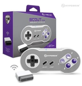 "Hyperkin ""Scout"" Premium BT Controller for Super NES®/ PC/ Mac®/ Android"
