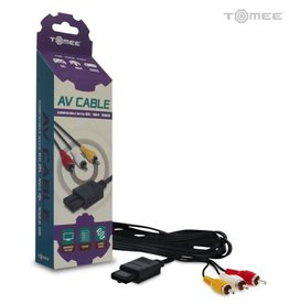 Tomee AV Cable for GameCube®/ N64®/ Super NES