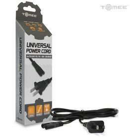 Tomee Universal Power Cord for PS4/ PS3 ® Slim/ PS2/ PS1/ Xbox/ Dreamcast/ Saturn