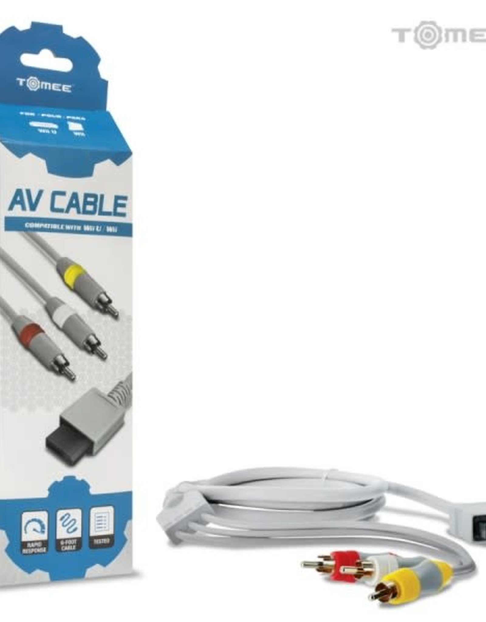 Tomee AV Cable for Wii U® / Wii®