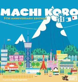 IDW Games Machi Koro 5th Anniversary