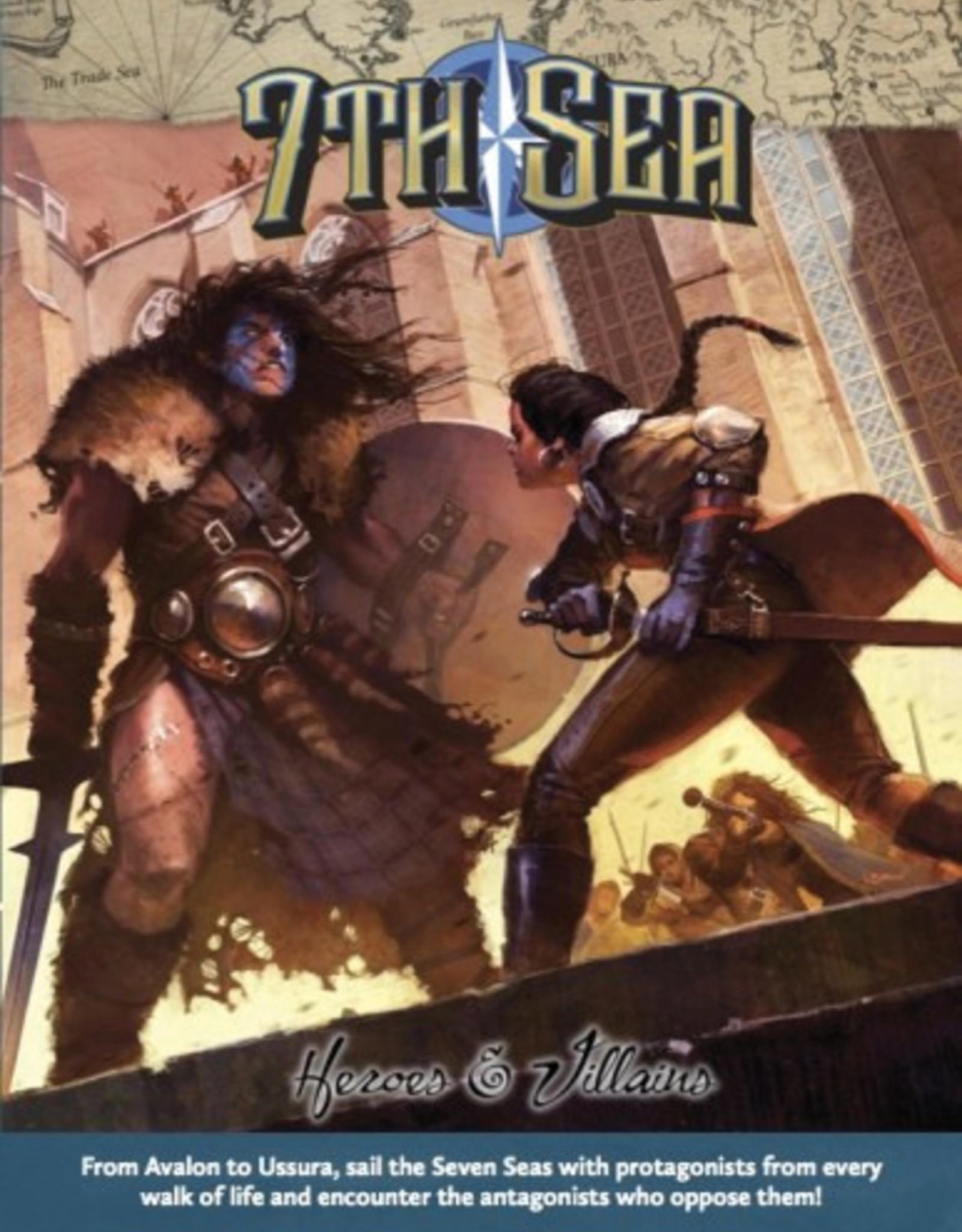 John Wick Presents 7th Sea RPG: Heroes & Villains