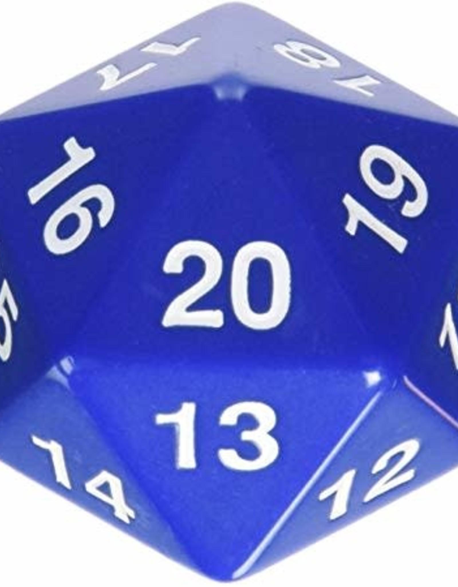 Koplow 55mm D20 Countdown Blue/White Opaque