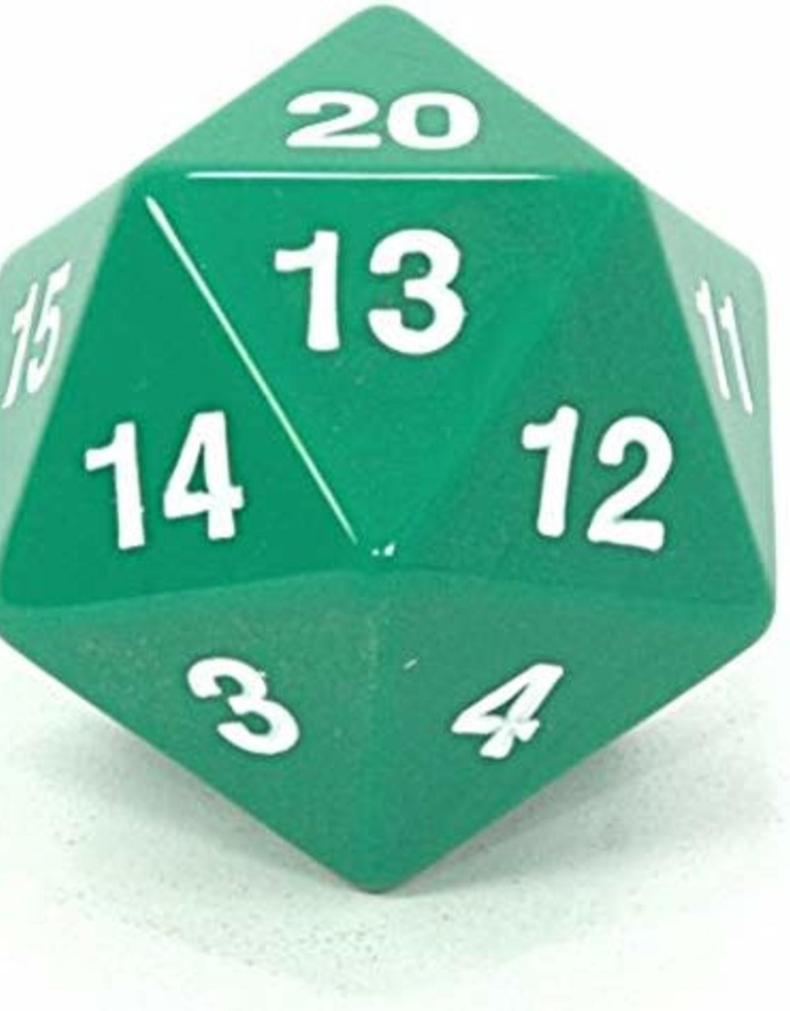 Koplow 55mm D20 Countdown Green/White Opaque