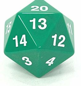 Koplow 55mm D20 Countdown Green/White Opaque