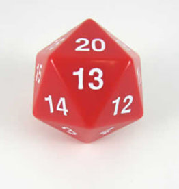 Koplow 55mm D20 Countdown Red/White Opaque
