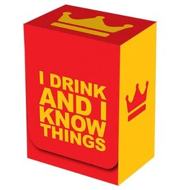 Legion Deck Box I Drink and I Know Things
