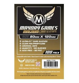Mayday Games Mayday 100ct Sleeve Magnum 80mmX120mm