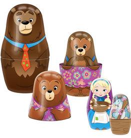 Schylling Goldilocks Tin Nesting Dolls