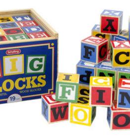 Schylling Large ABC Blocks