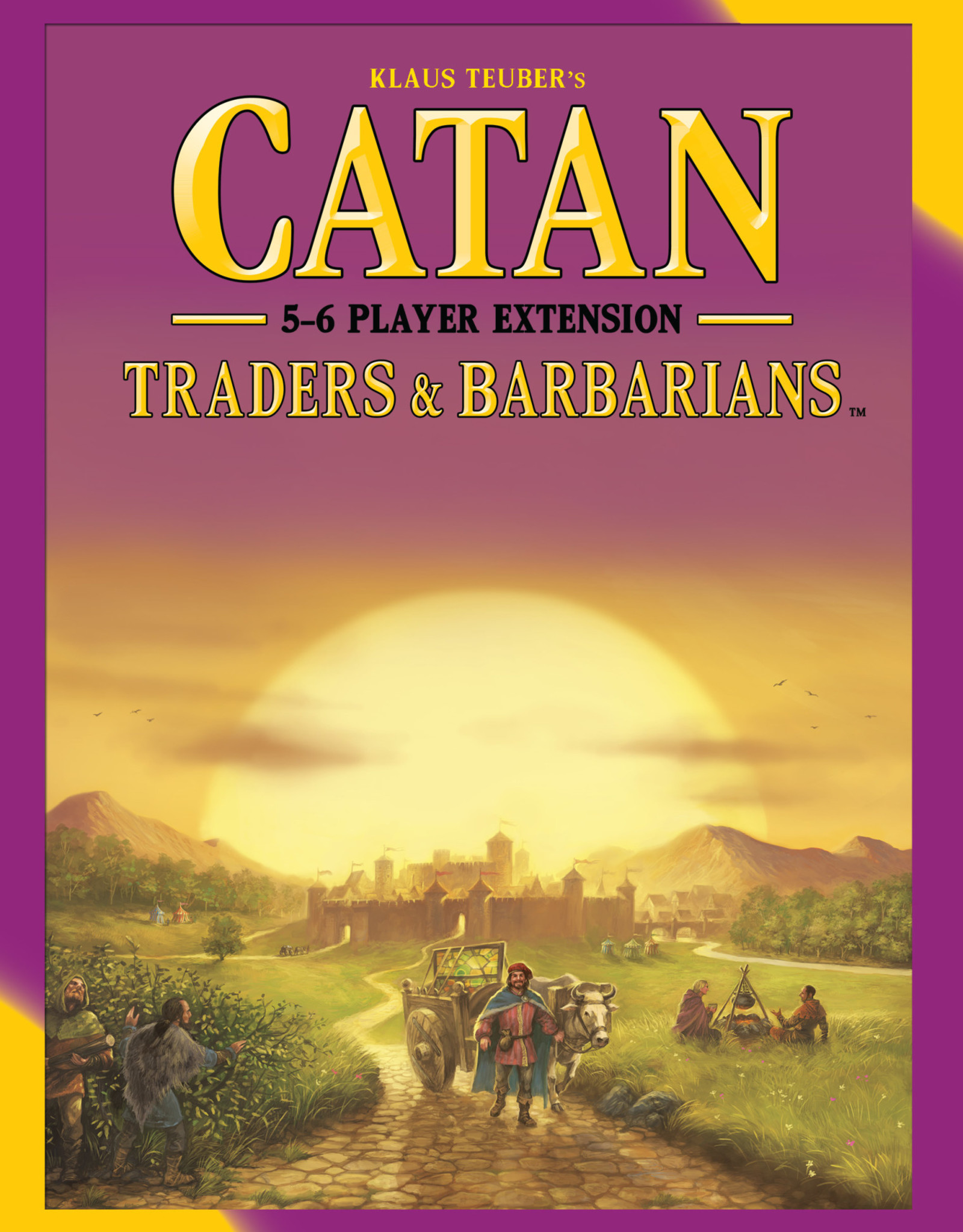 Catan Studio Catan: Traders & Barbarians: 5-6 Player Expansion