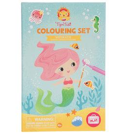 Tiger Tribe Mermaids - Colouring Set