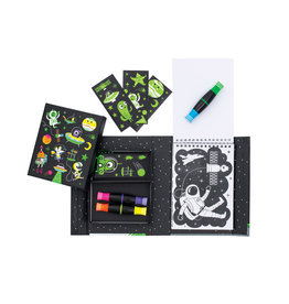 Tiger Tribe Outer Space - Neon Colouring Set