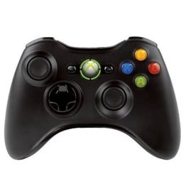 Microsoft Wireless Controller For Xbox 360® (Black) (Refurbished)