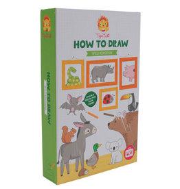 Tiger Tribe Wild Kingdom - How To Draw