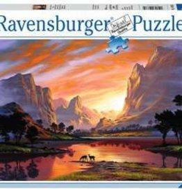 Ravensburger Tranquil Sunset 500pc Puzzle