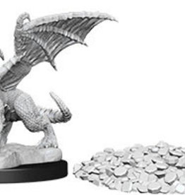 Wiz-Kids D&D Minis: Blue Dragon Wyrmling