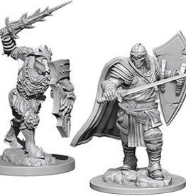 Wiz-Kids D&D Minis: Death Knight & Helmed Horror