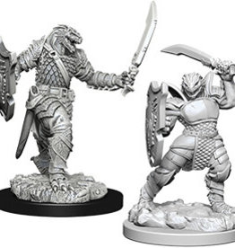 Wiz-Kids D&D Minis: Dragonborn Female Paladin