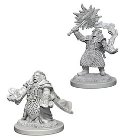 Wiz-Kids D&D Minis: Dwarf Female Cleric