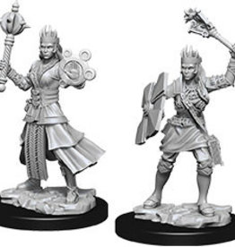 Wiz-Kids D&D Minis: Female Human Cleric