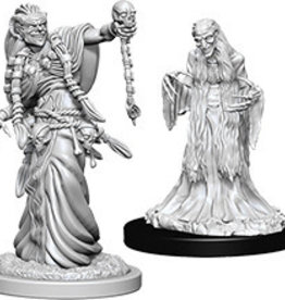 Wiz-Kids D&D Minis: Green Hag & Night Hag