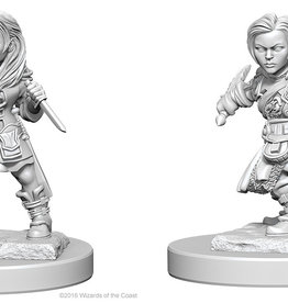 Wiz-Kids D&D Minis: Halfling Female Rogue