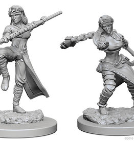 Wiz-Kids D&D Minis: Human Female Monk