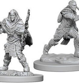 Wiz-Kids D&D Minis: Male Elf Fighter