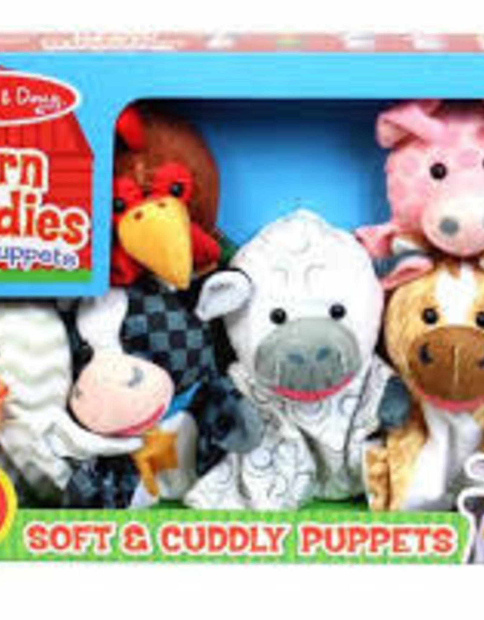 Melissa & Doug Barn Buddies Puppets