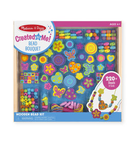 Melissa & Doug Created by Me! Bead Bouquet Wooden Bead Kit
