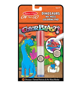 Melissa & Doug On the Go ColorBlast No-Mess Coloring Pad - Dinosaurs