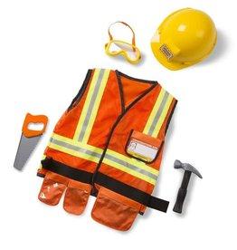 Melissa & Doug Construction Worker Role Play Set