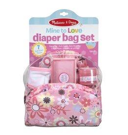 Melissa & Doug Mine to Love - Diaper Bag Set