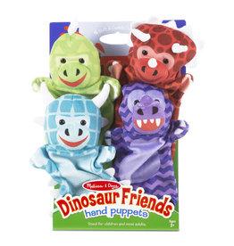 Melissa & Doug Dinosaur Friends Puppets