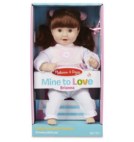 "Melissa & Doug Mine to Love - Brianna 12""  Baby Doll"